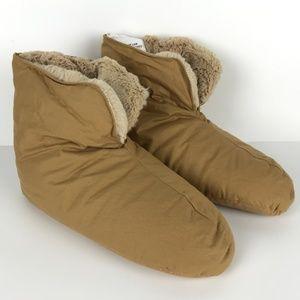 Restoration Hardware Cozy Down Foot Duvet Slippers
